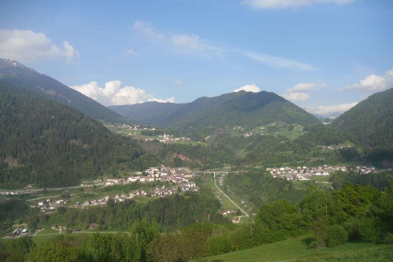 Canal S.Bovo, Lausen e Prade