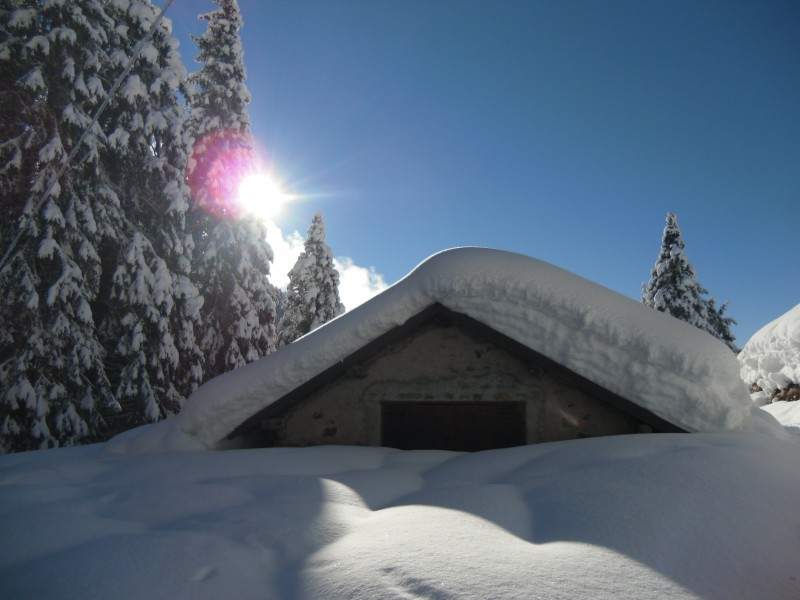 malga inverno