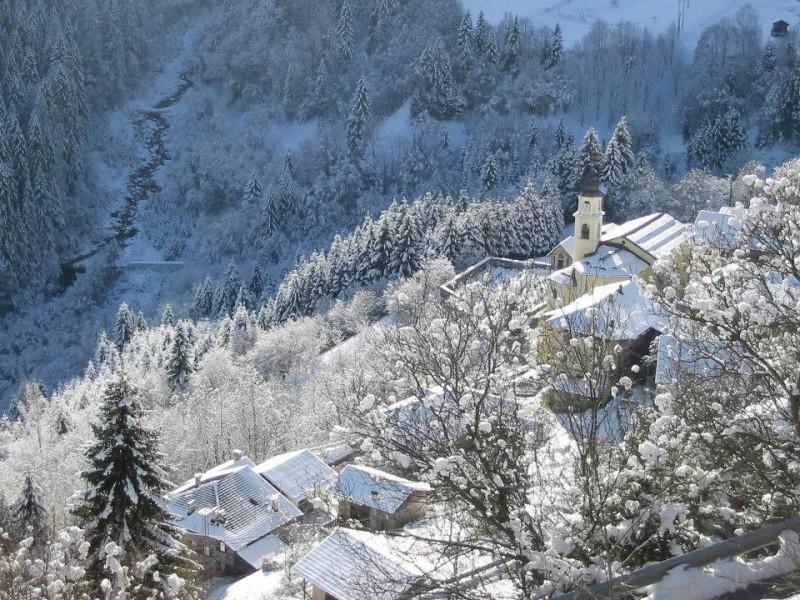 Ronco sotto la neve
