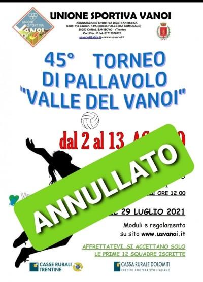 ATTENZIONE TORNEO ANNULLATO PER INTRODUZIONE GREEN PASS!