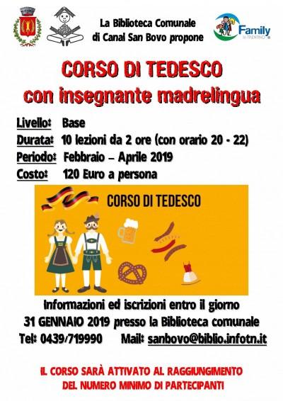 CORSO DI TEDESCO CON INSEGNANTE MADRE LINGUA